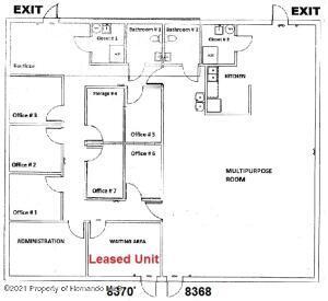 Floor Plan.Combined units