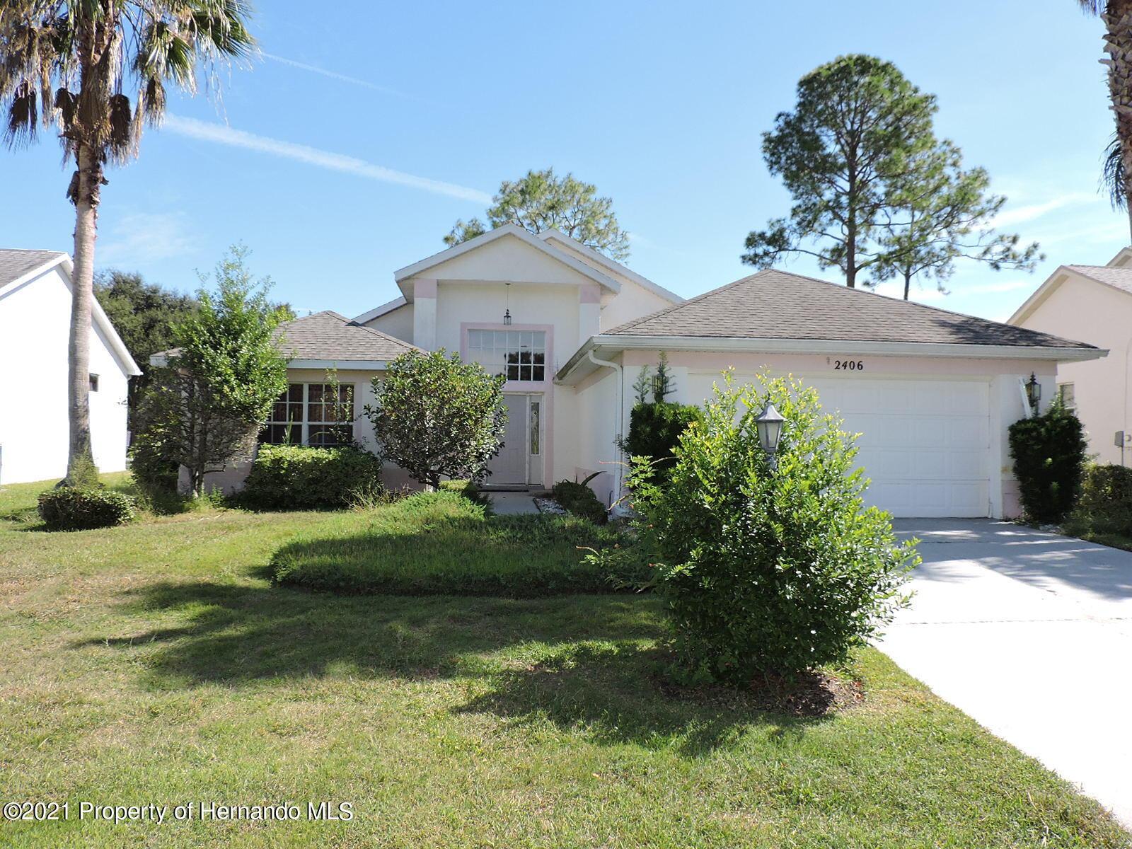 Details for 2406 Summercrest Lane, Spring Hill, FL 34606