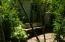 Sitting area to enjoy garden