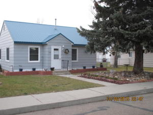 Nice, neat two bedroom, one bath single level home in Chinook, MT. New roof, new windows, new doors and remodeled bath. Fenced back yard, storage shed