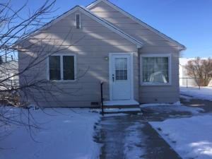 Nice 2 bedroom, 1 bath home. Single level home with the open concept feel. This home is on 2 lots with a fenced yard with a large 2 car garage. A ne