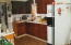 Nice up to date kitchen with elec, running water and microwave