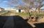 Back yard and garage