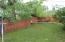 BACK YARD - FULLY FENCED YARD WITH PRIVACY FENCE
