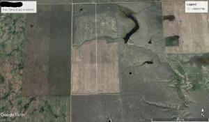 Great place to build your country paradise. 160 acres locate 7.5 miles north on the Highland Rd. There is 33.5 acres grass and 126.5 acres crop able