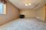 BASEMENT FAMILY ROOM - INCLUDES PELLET STOVE