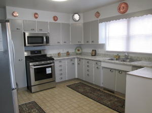 Large kitchen with all new appliances