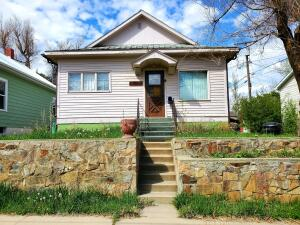 With over 2,000 square feet this 1925 vintage home has 2 bedrooms, 2 bathrooms, oh and by the way, a bomb shelter too!