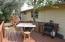 patio in back yard