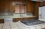Kitchen counters and cooktop