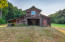 Barn with horse stalls & game room above