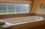 Master bath jacuzzi tub
