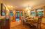 Formal Dining Room, open unto veranda