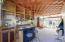 Combed Redwood Ceiling