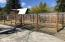 fenced animal space