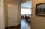 Hallway turns to go into the dining area