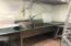 Dishwashing area/back kitchen