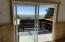 view from kitchen area through slider