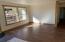 wood flooring and window trim