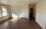 Wood flooring living room