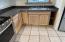 kitchen counter-tile flooring