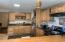 kitchen main house 2026 custom wood work, trim, counters, cutting board
