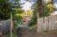 Lower driveway