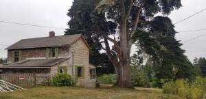 Back of main residence