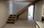 Staircase in basement