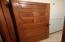 Most of the doors are original, solid oak!