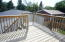 Elevated deck 12 x 12 built in 2012