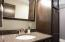 Lots of Cabinet Space in this Bathroom.