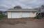 26' x 30' insulated & sheetrocked backyard garage off the alley; A/C; Heat