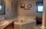 Soaking tub and Separate Shower.