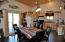 Kitchen in man cave/media room
