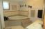 Lower level bathroom with jetted tub