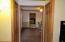 Storage on both sides of hallway