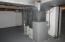 Furnace in basement