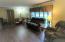 Living room with beautiful new hardwood floors