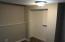 Lower level bedroom closet