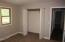 Bedroom #1 closet