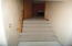 Stairway from basement to next level
