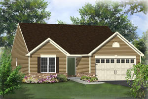 16 PLEASANT ROAD, MARCELL FLOOR PLAN, GORDONVILLE, PA 17529