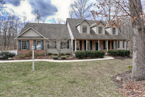 Beautiful home on almost 4 acres in wooded setting. Wonderful kitchen invites massive morning rm & FR w WB FP. Formal DR & LR/Den w wall to wall built-ins. Main level owners suite w WP & shower+ 3 spacious bedrooms on second level. Lower level boast daylight basement + propane FP in very open area. Side load 3 car garage. Custom built by Bob Brandt & Sons. Exceptionally maintained. Must see.