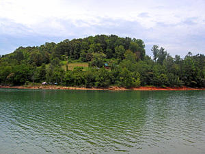 Norris Lake waterfront building site