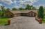 Beautiful Front Entry Showing The Stamped Concrete Drive Along With 3 Car Garage. Also A 3 Car Garage Off Of Basement.