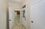 Side Entry/Drop Area Adjacent to Laundry Room, NOTE: New glass paned door w/glass storm door.