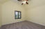 """4th Bedroom with vaulted tray ceinling with new ceiling fan, large walk-in closet adjoined by a Jack """"n"""" Jill bath"""