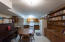 Eat-In Kitchen with Tile Floor and Built-In Storage Downstairs!