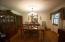 New Light in Formal Dining Room